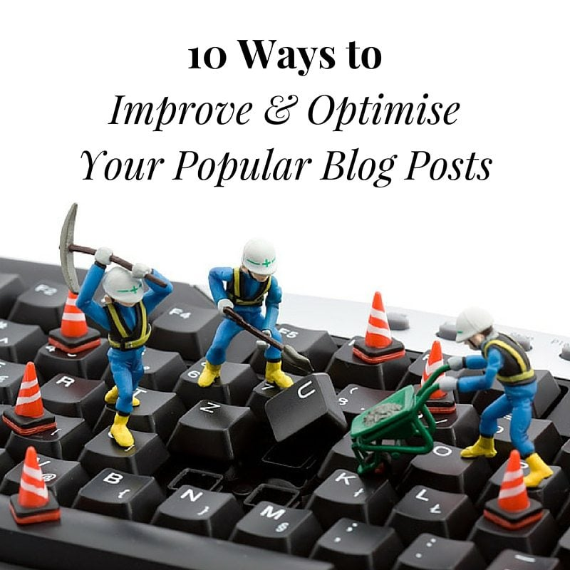 optimise your blog posts