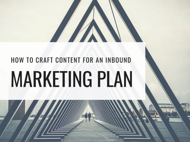 Marketing Plan Components: How to Craft Content for An Inbound Marketing Plan