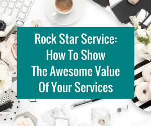 How To Schedule Your Content Like A Boss | Rock Star Service How To Show The Awesome Value Of Your Services
