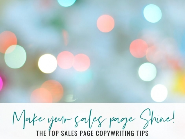 Top Sales Page Copywriting Tips