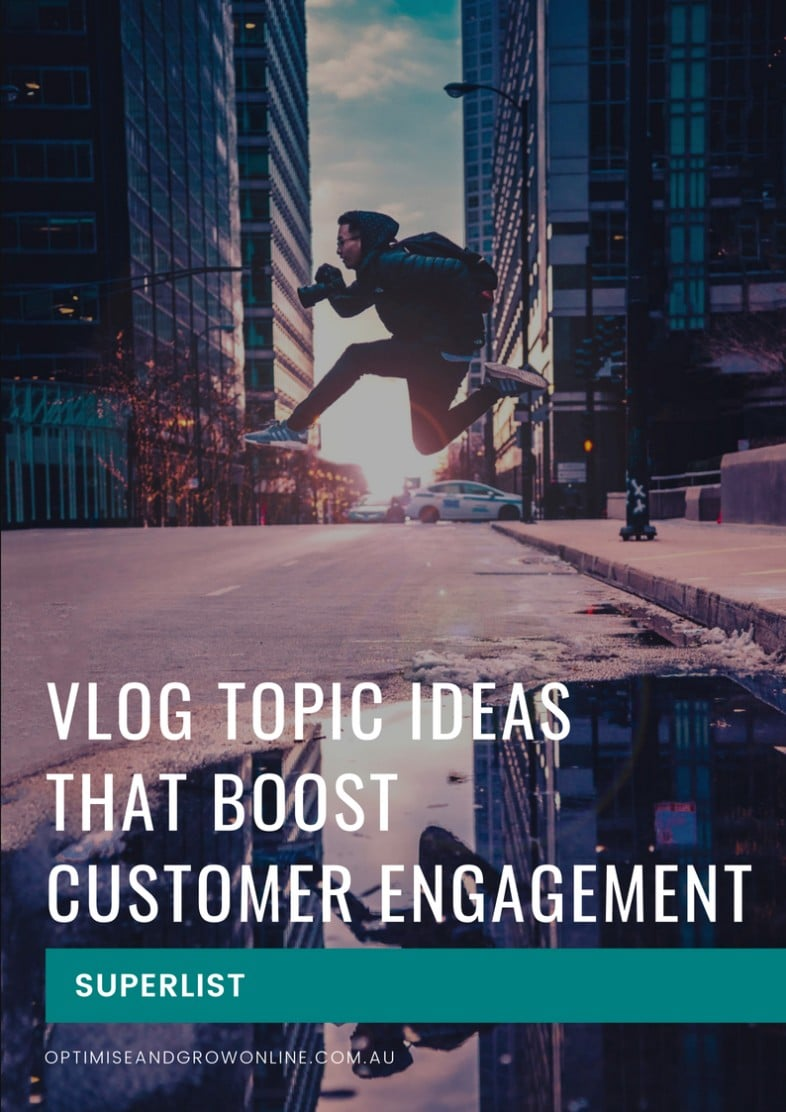 Vlog Topic Superlist