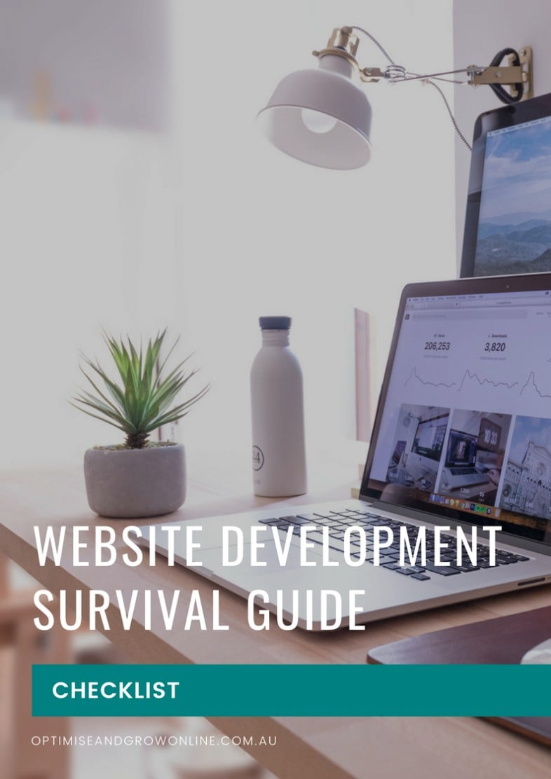 Website Development Survival Checklist