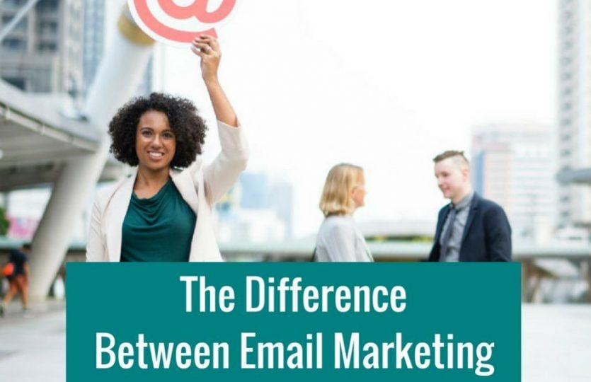 The Difference between email marketing and newsletters