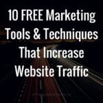 free-marketing-tools-techniques-grow-website-traffic