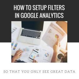 google analytics filters spam data