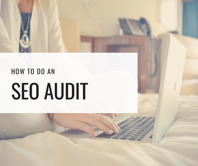 how to do an seo audit