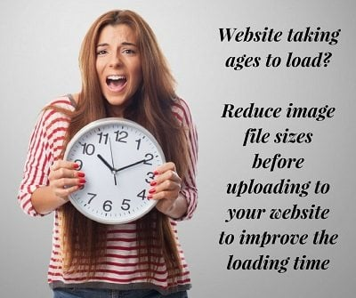 reduce file sizes