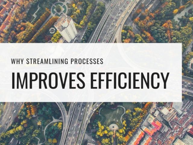 streamline processes increase efficiency